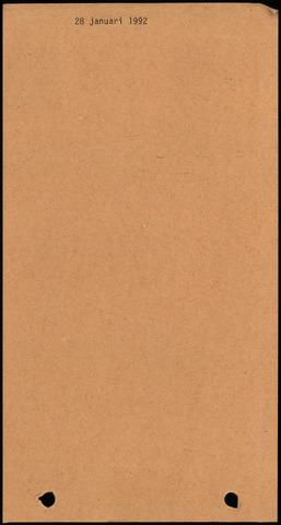 Dinteloord: Notulen gemeenteraad, 1946-1996 1992