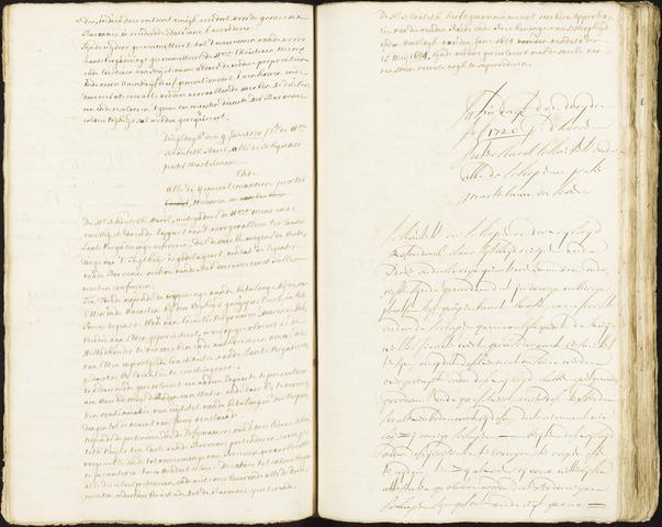 Roosendaal: Registers van resoluties, 1671-1673, 1675, 1677-1795 1720