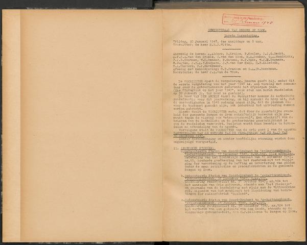 Bergen op Zoom: Notulen gemeenteraad, 1926-1996 1948-01-01