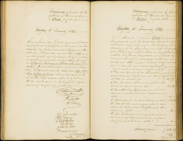 Wouw: Notulen gemeenteraad, 1813-1996 1849