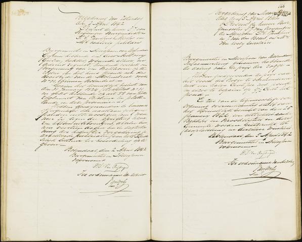 Roosendaal: Notulen van burgemeester en assessoren, 1827-1851 1842