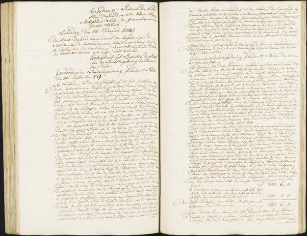 Roosendaal: Registers van resoluties, 1671-1673, 1675, 1677-1795 1768