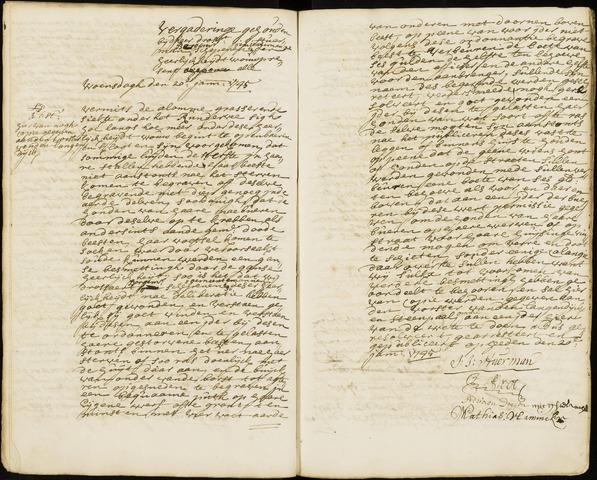 Wouw: Registers van resoluties, 1593-1811 1745
