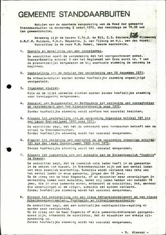 Standdaarbuiten: Notulen gemeenteraad, 1937-1996 1972-01-01