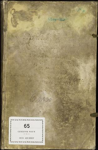 Wouw: Registers van resoluties, 1593-1811 1801