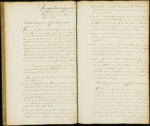 Wouw: Notulen gemeenteraad, 1813-1996 1823