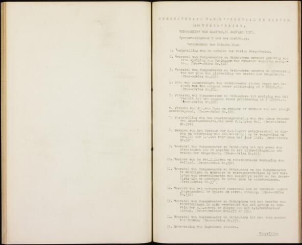 Roosendaal: Notulen gemeenteraad, 1916-1999 1927