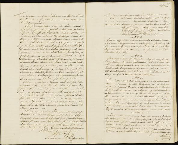 Roosendaal: Notulen, 1830-1851 1845