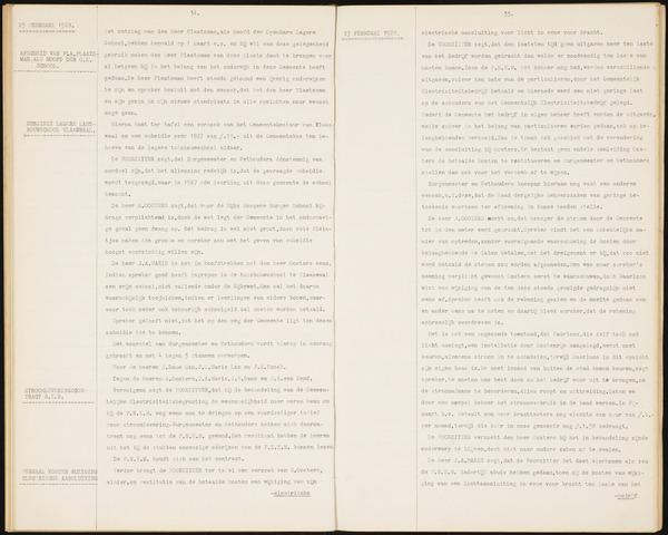 Willemstad: Notulen gemeenteraad, 1927-1995 1928-01-01