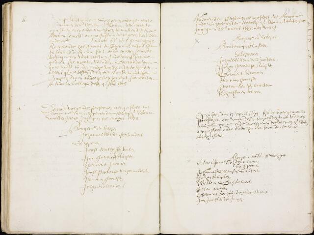 Wouw: Registers van resoluties, 1593-1811 1672