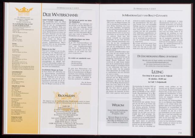 De Waterschans 2003-09-01