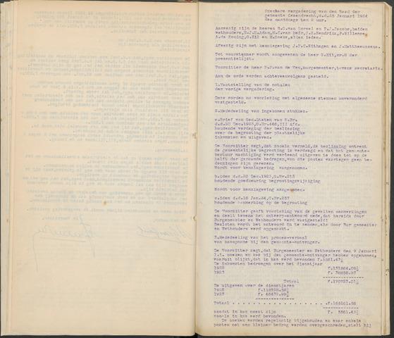 Ossendrecht: Notulen gemeenteraad, 1920-1996 1924