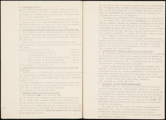 Fijnaart en Heijningen: notulen gemeenteraad, 1934-1995 1941