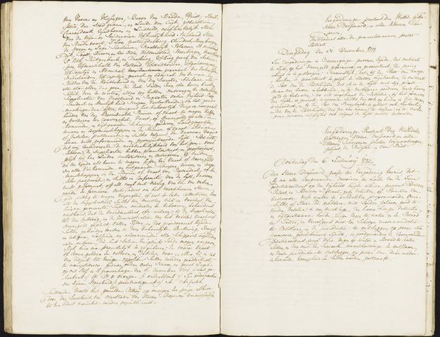 Roosendaal: Registers van resoluties, 1671-1673, 1675, 1677-1795 1772
