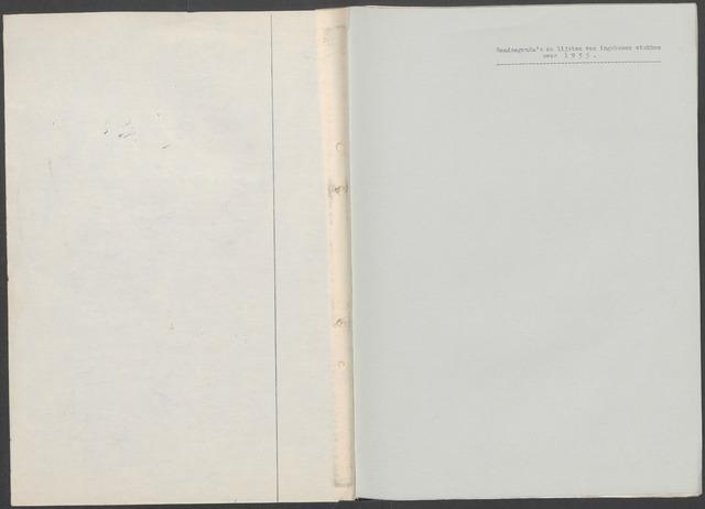 Etten-Leur: Notulen gemeenteraad, 1936-1979 1955-01-01