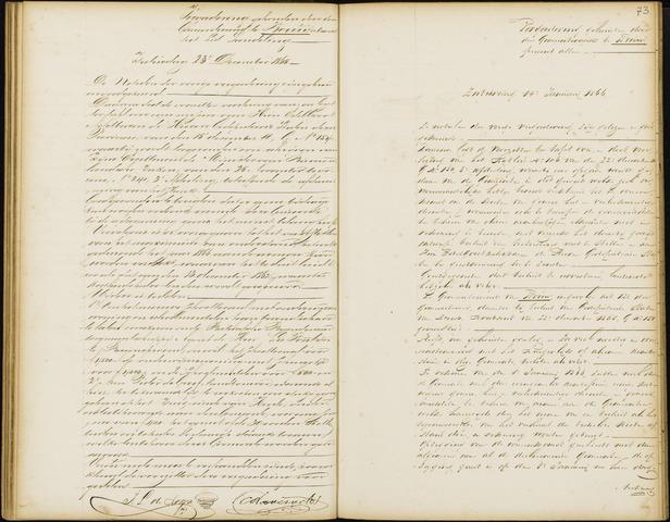 Wouw: Notulen gemeenteraad, 1813-1996 1866