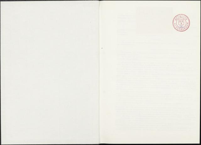 Zevenbergen: Notulen gemeenteraad, 1930-1996 1972-01-01