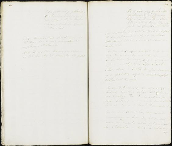 Roosendaal: Registers van resoluties, 20 juli 1794 - 22 juni 1811 1809