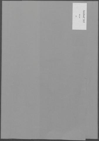 Etten-Leur: Notulen gemeenteraad, 1936-1979 1970-01-01