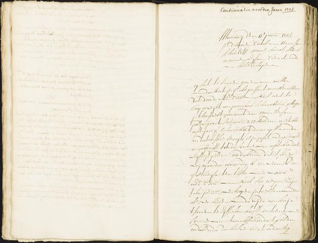 Roosendaal: Registers van resoluties, 1671-1673, 1675, 1677-1795 1725