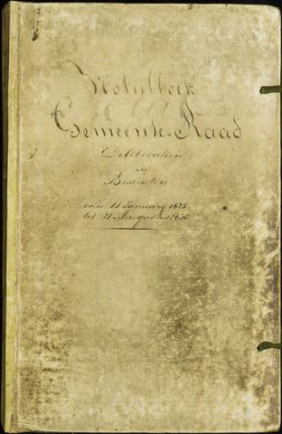 Roosendaal: Notulen 1814-1851 1825