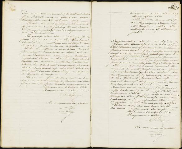 Roosendaal: Notulen van burgemeester en assessoren, 1827-1851 1850