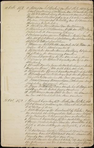 Roosendaal: Inhoudsopgaven notulen, 1849-1903 1873