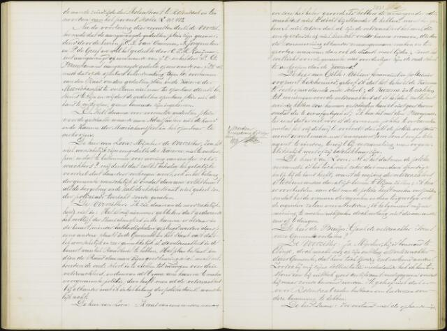 Roosendaal: Notulen gemeenteraad, 1851-1917 1881