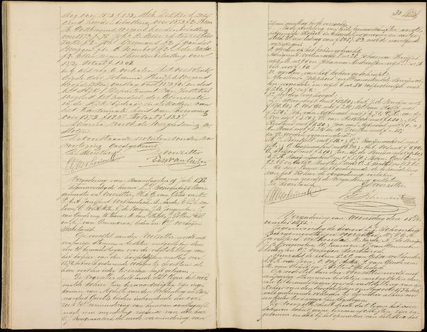 Roosendaal: Notulen gemeenteraad (besloten), 1851-1916 1875
