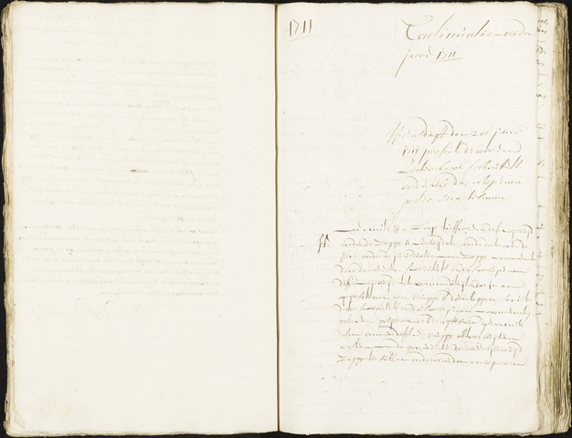 Roosendaal: Registers van resoluties, 1671-1673, 1675, 1677-1795 1711