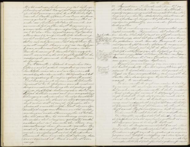 Roosendaal: Notulen gemeenteraad, 1851-1917 1875