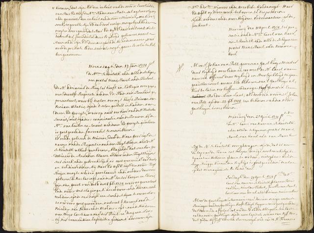 Roosendaal: Registers van resoluties, 1671-1673, 1675, 1677-1795 1731