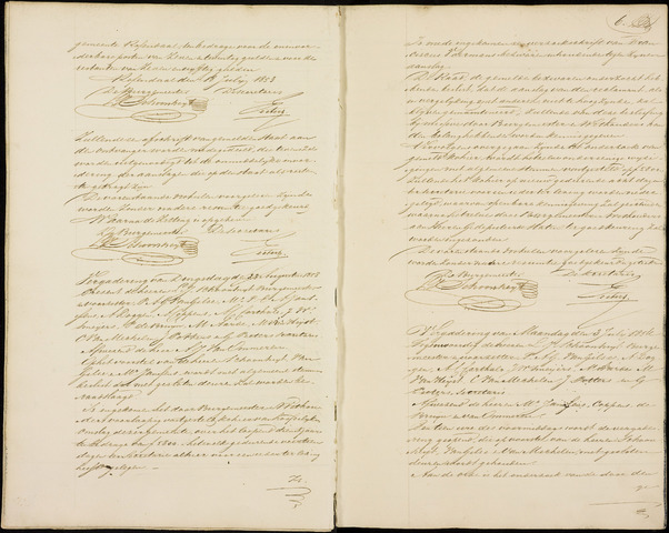 Roosendaal: Notulen gemeenteraad (besloten), 1851-1916 1853