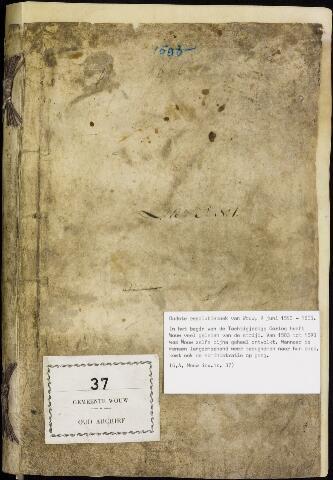 Wouw: Registers van resoluties, 1593-1811 1593