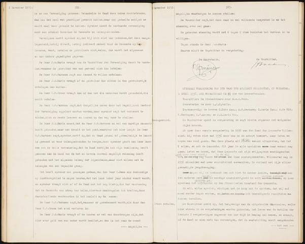 Willemstad: Notulen gemeenteraad, 1927-1995 1936-01-01