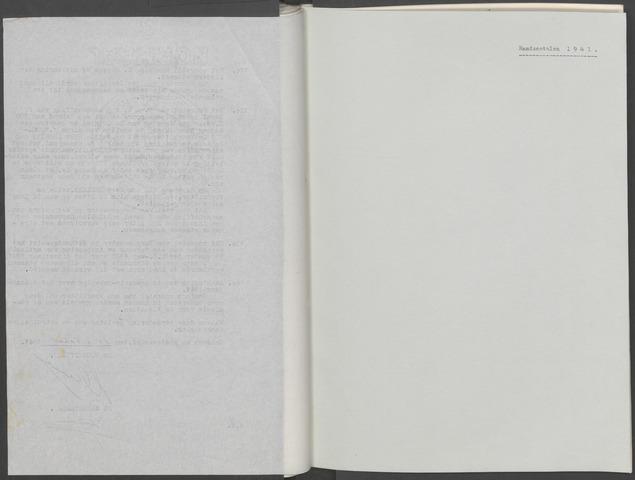 Etten-Leur: Notulen gemeenteraad, 1936-1979 1941-01-01