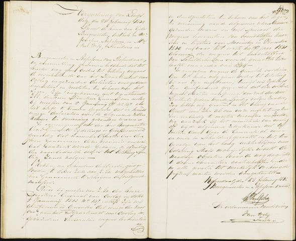Roosendaal: Notulen van burgemeester en assessoren, 1827-1851 1832