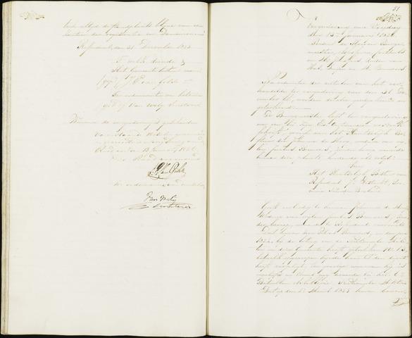 Roosendaal: Notulen 1814-1851 1826