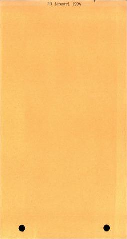 Fijnaart en Heijningen: notulen gemeenteraad, 1934-1995 1994