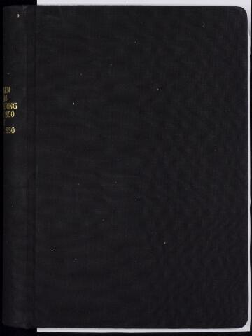 Roosendaal: Notulen gemeenteraad, 1916-1999 1950
