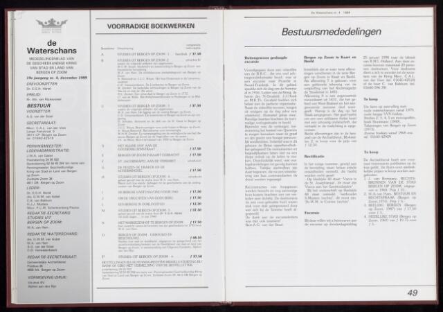 De Waterschans 1989-12-01