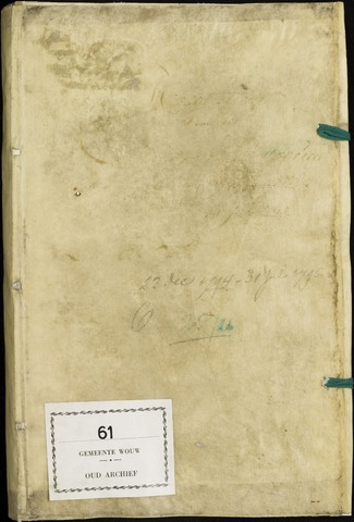 Wouw: Registers van resoluties, 1593-1811 1795