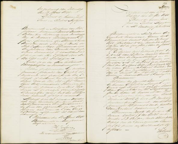 Roosendaal: Notulen van burgemeester en assessoren, 1827-1851 1840