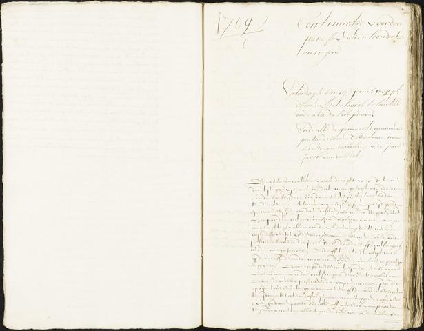 Roosendaal: Registers van resoluties, 1671-1673, 1675, 1677-1795 1709