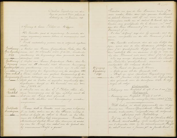 Wouw: Notulen gemeenteraad, 1813-1996 1899