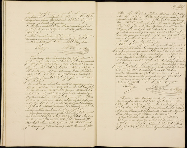 Roosendaal: Notulen gemeenteraad (besloten), 1851-1916 1864