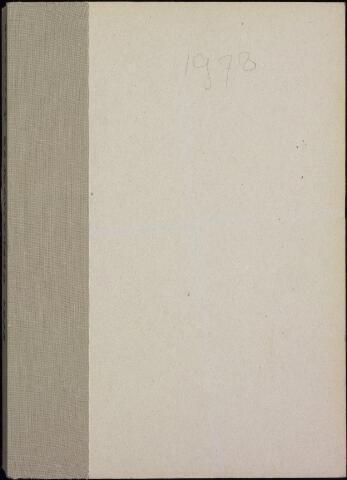 Roosendaal: Notulen gemeenteraad, 1916-1999 1978