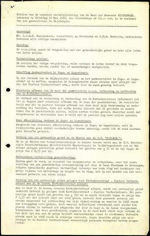 Rijsbergen: Notulen gemeenteraad, 1940-1996 1962