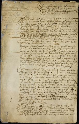 Wouw: Minuten van resoluties, 1710-1729 1710