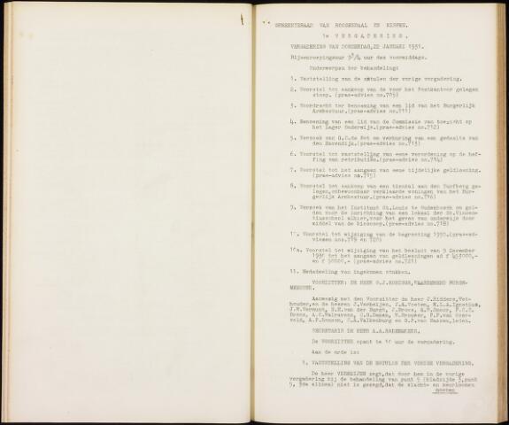 Roosendaal: Notulen gemeenteraad, 1916-1999 1931